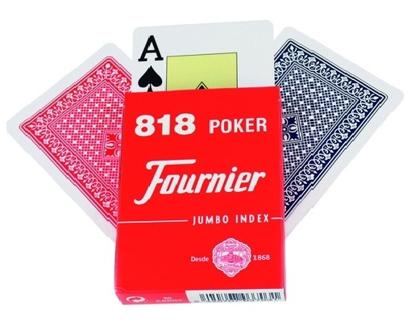 Imagen de Baraja Poker FOURNIER Nº 818 55 CARTAS