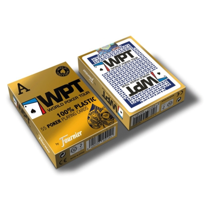 Picture of Naipe Poker Plastico WPT GOLD EDITION