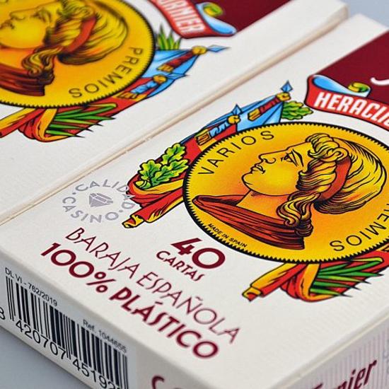 Imagen de NAIPE ESPAÑOL FOURNIER Nº2100 40 CARTAS PLÁSTICO