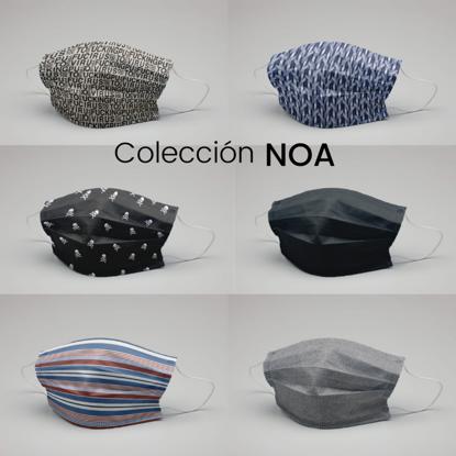 Picture of 6 MASCARILLAS NOA-(5 lavados 5 usos)